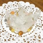 シトリン翡翠モルガナイト水晶