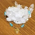 ブルーカルセドニーパール水晶