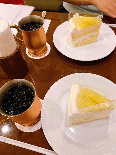椿屋メロンショートケーキ